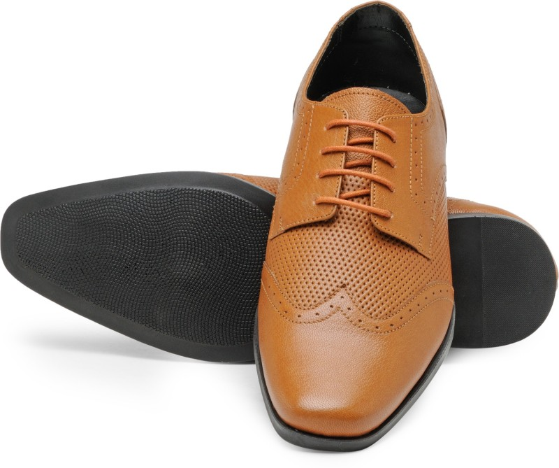 Franco Leone Lace Up For Men(Tan)