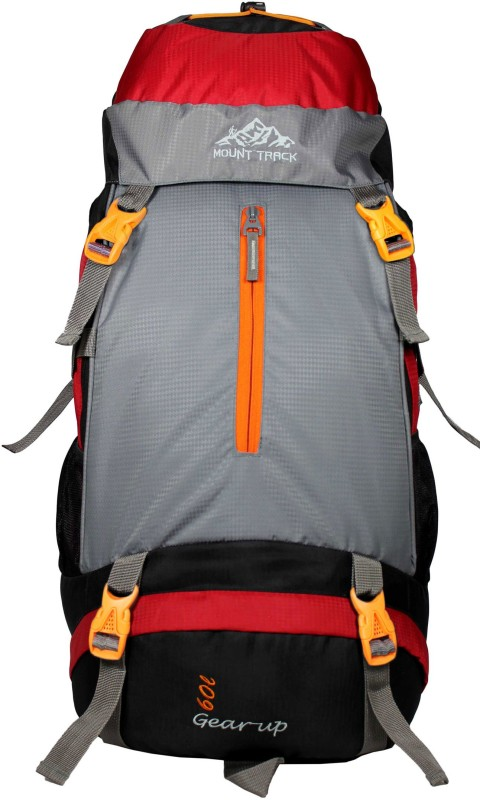 Mount Track Gear Up 9105RD 60 Ltrs Backpack(Red, Rucksack)