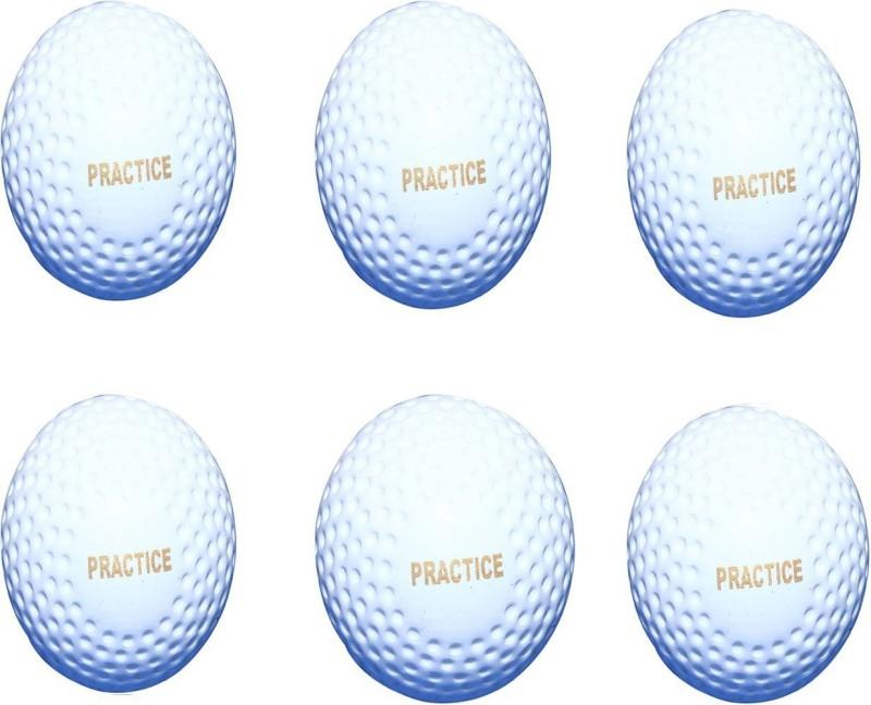 Parbat HOCKEY BALL Hockey Ball(Pack of 6, White)