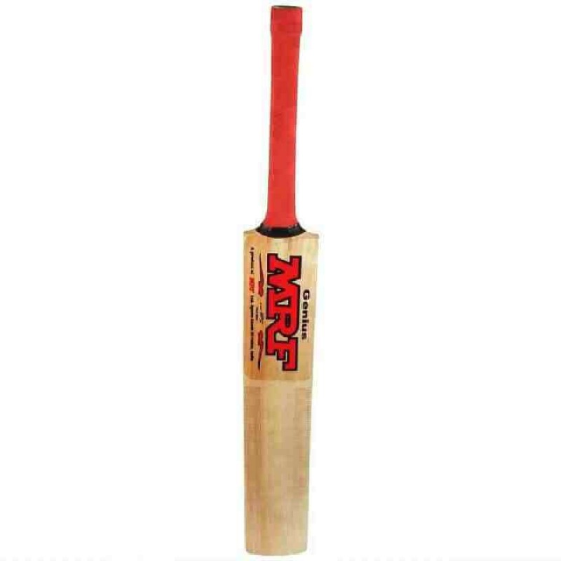 Mrf genius poplar size 5 tennis bat Poplar Willow Cricket Bat(5, 0.7-0.9 kg)