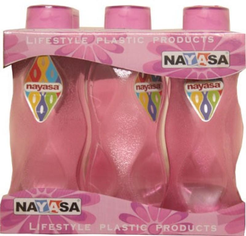Nayasa world 1000 ml Bottle(Pack of 6, Pink)