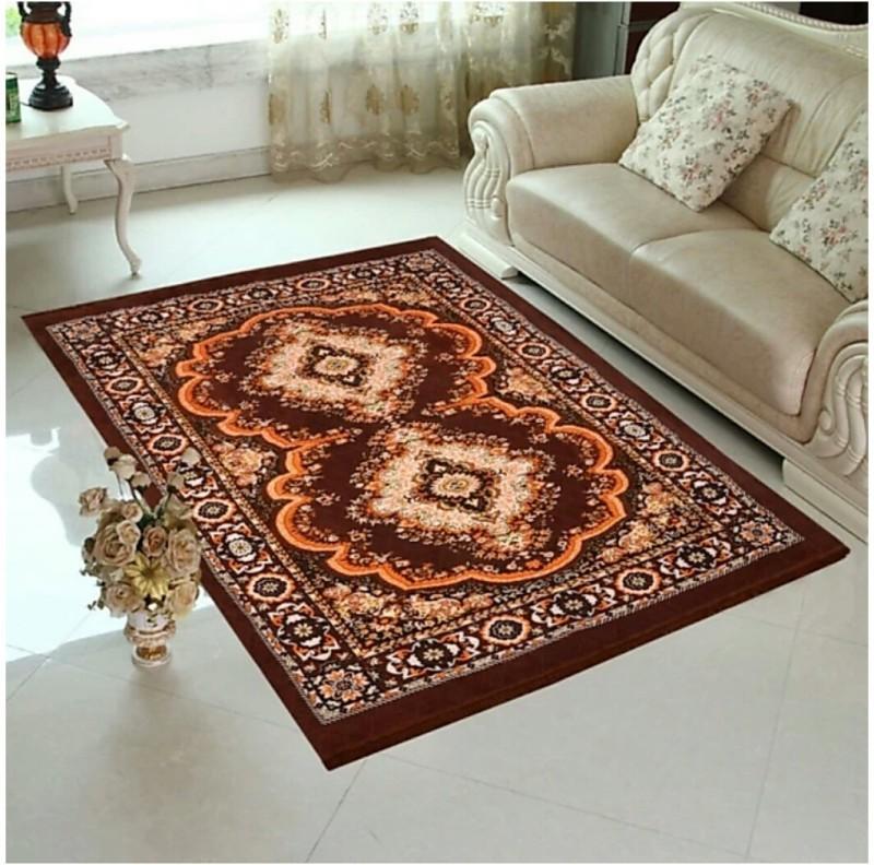 JUSTWAY Multicolor Jute Carpet(183 cm X 254 cm)