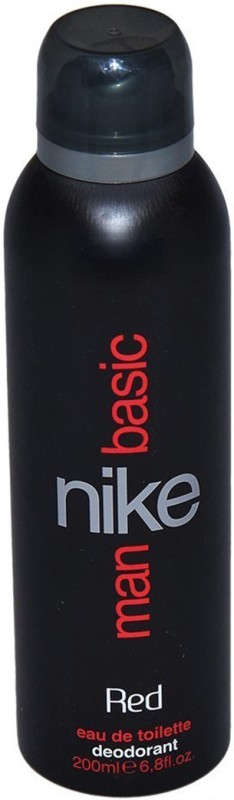 Nike Man Basic, Red Deodorant Spray - For Men(200 ml)
