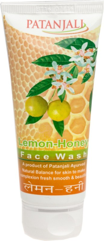 Patanjali Lemon Honey Face Wash(60 g)