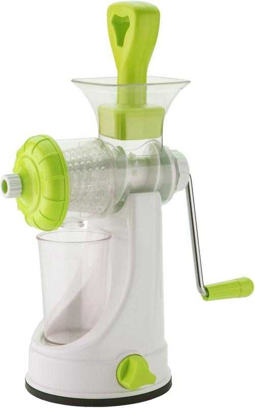 VR Unbreakable Fruit & Vegetable Plastic, Stainless Steel Hand Juicer(Green Pack of 1)