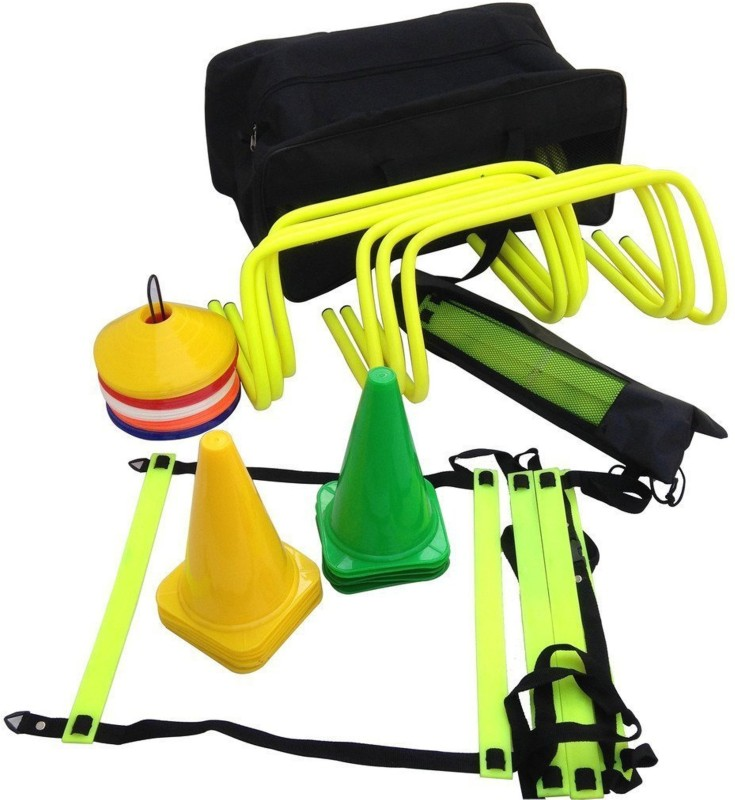 CW Pro Speed Soccer Agility Training Ladder Cones Training Kit Football Kit