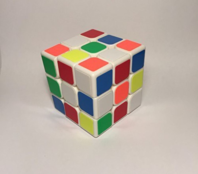 1492 Products Cubic Game 3 X 3 White Speed Cube Faster, Smoother, And Smarter Money Back Guarantee(1 Pieces)