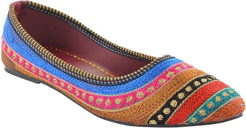 pahnawa Women's Slip On For Women(5, Multicolor) image