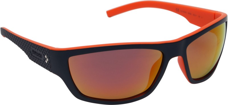 Polaroid Sports Sunglasses(Brown)