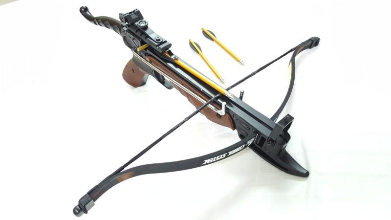Armor Self Cocking Cross Bow(Multicolor)