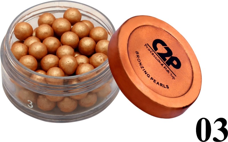 C2P Professional Make-Up Face Bronzing Pearls 03(gold)