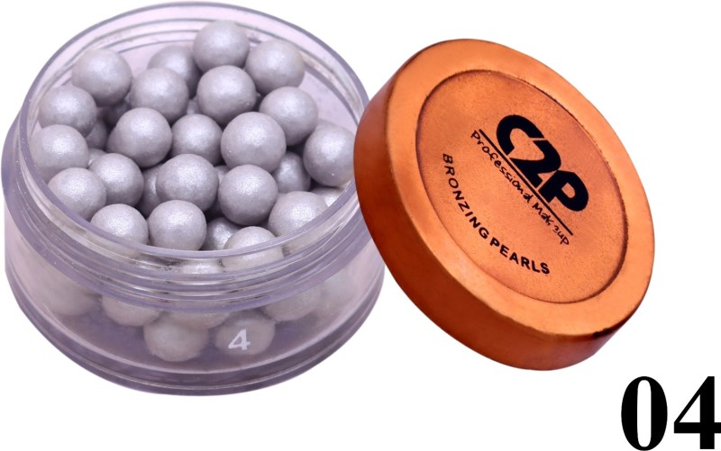 C2P Professional Make-Up Face Bronzing Pearls 04(silver)