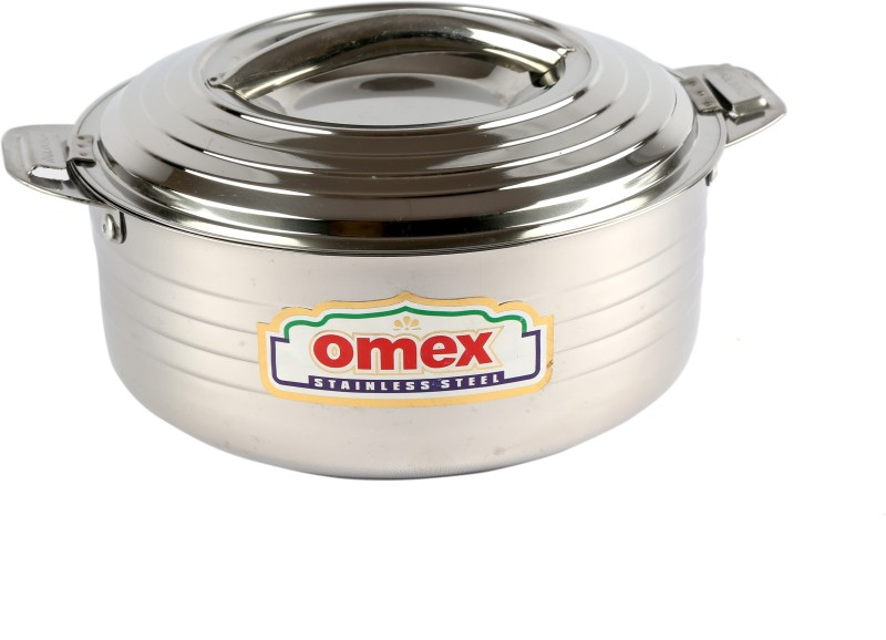 Omex Omex Crown 2000 Insulated Stainless Steel Casserole, Serving Pot Casserole(2 L)