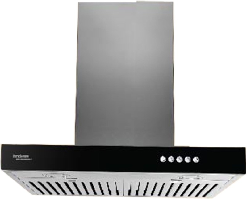 Hindware ZITA 60 Wall Mounted Chimney(BLACK 1100)