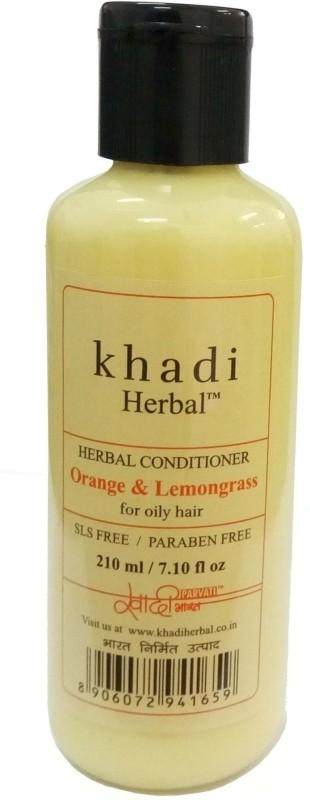 Khadi Herbal Oranage & Lemongrass conditioner(210 ml)