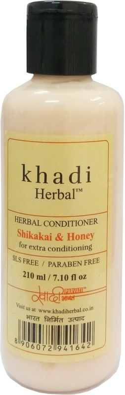Khadi Herbal Shikakai & Honey Conditioner(210 ml)