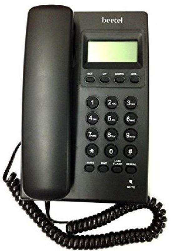 Beetel BEETEL-M17 Cordless Landline Phone(Black)
