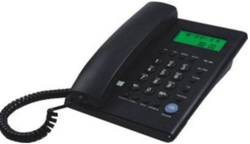 Beetel MG-BEETEL-M53 Cordless Landline Phone(Black)