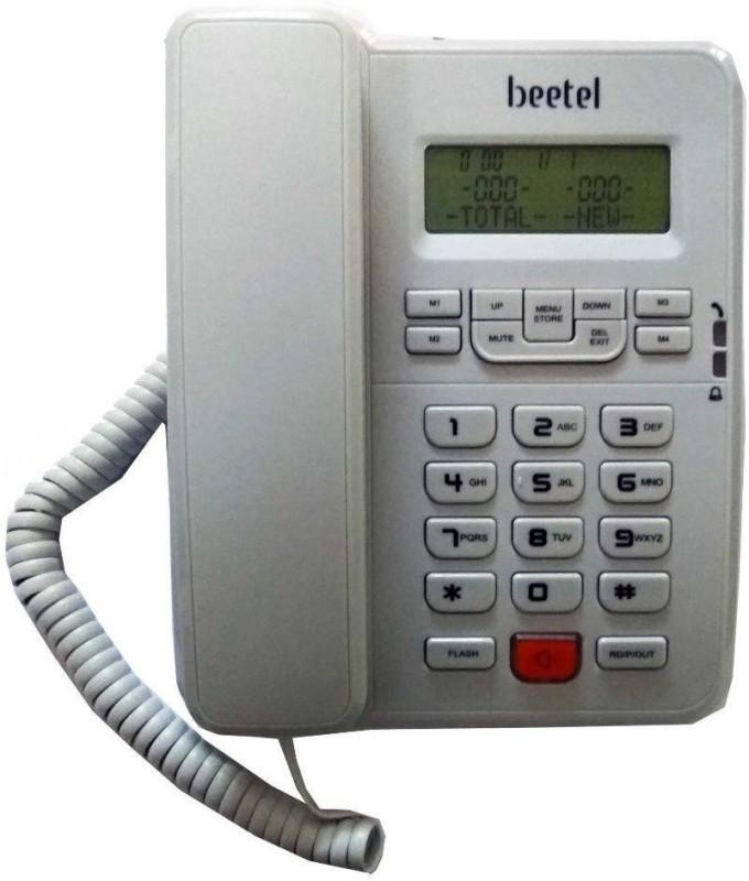 Beetel MG-BEETEL-M57 Cordless Landline Phone(White)
