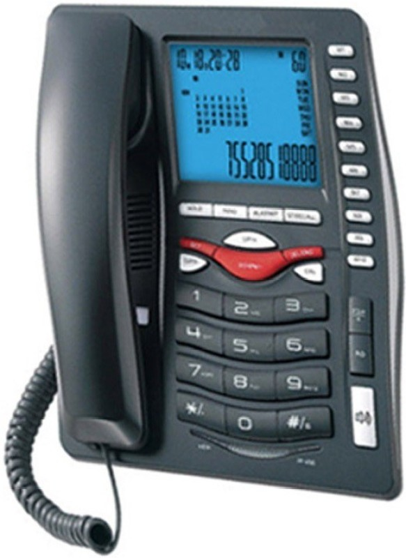 Beetel MG-BEETEL-M75 Cordless Landline Phone(Black)