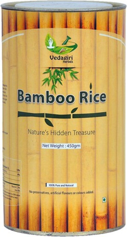 Vedagiri Herbals Bamboo Brown Boiled Rice(450 g)