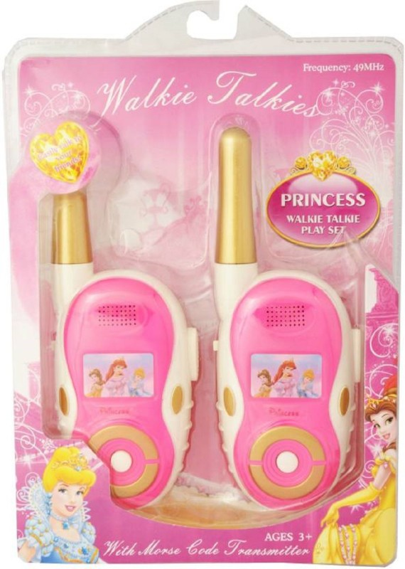 Goyal Princess Walkie Talkie(Pink)