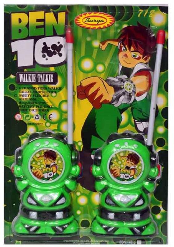Goyal Ben 10 Walky Talkies Walkie Talkie(Green)