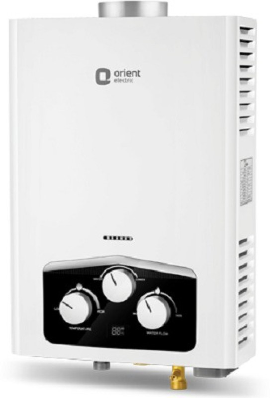 Orient 6 L Gas Water Geyser(White, VENTO)