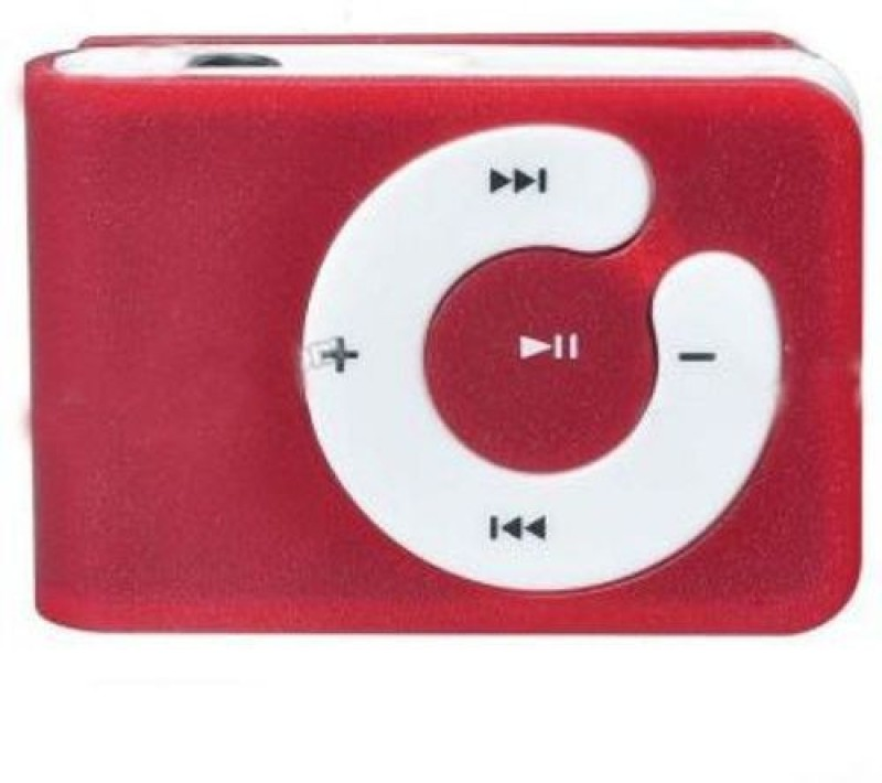 Dice Mini Pocket size Mp3 Player With Data Cable & handfree 16 GB MP3 Player(Red, 0 Display)