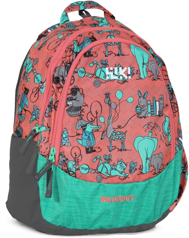 Wildcraft Wiki Zoo 2 14 L Backpack(Multicolor)