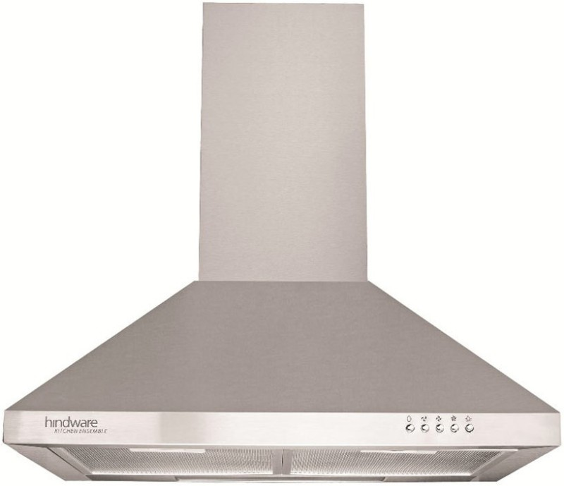 Hindware HINDWARE PACIFIC 60 Wall Mounted Chimney(SIILVER 820)