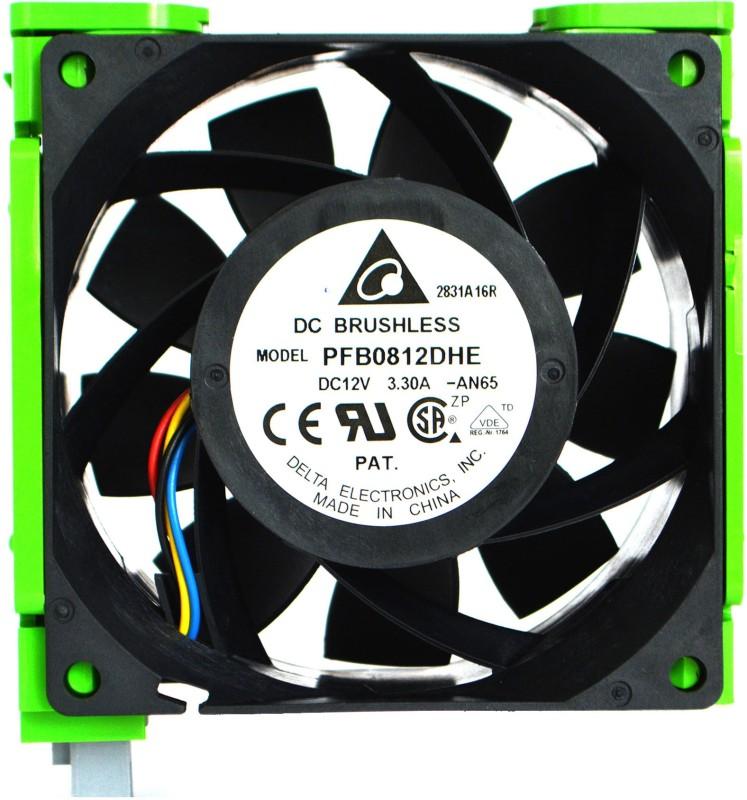 Delta Electronics PFB0812DHE DC Brushless Fan Cooler(Black)
