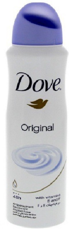 Dove Imported' (Made in UAE) Original Antiperspirant Roll on Deodorant Roll-on - For Men & Women (150 ml) Deodorant Spray - For Men & Women(150 ml)