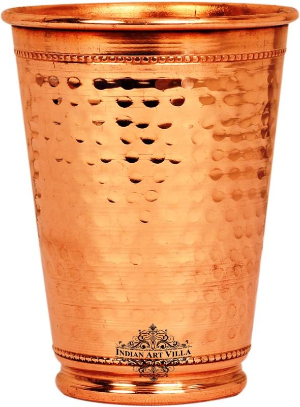 IndianArtVilla Glass Set(400 ml, Brown, Pack of 1)