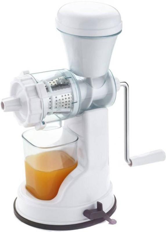 CREZON Plastic Hand Juicer(White)