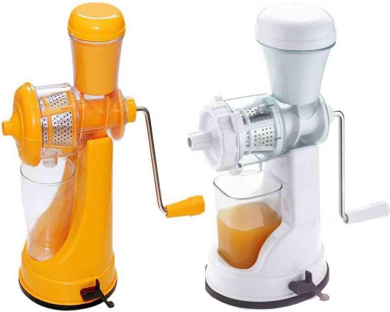 CREZON Plastic Hand Juicer(Multicolor)