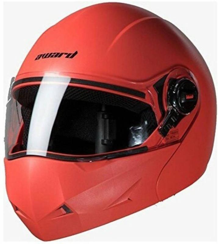 Steelbird Award Dashing Motorbike Helmet(Red)