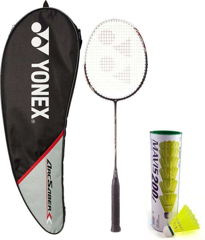 Yonex Combo - Arcsaber 100 THL & Mavis 200I Set Badminton Kit