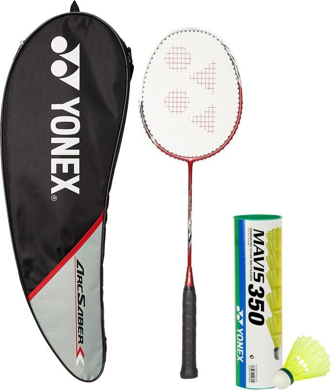 Yonex Combo - Arcsaber 200 & Mavis 350 Set Badminton Kit