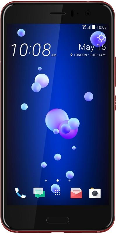 HTC U11 (Solar Red, 128 GB)(6 GB RAM)