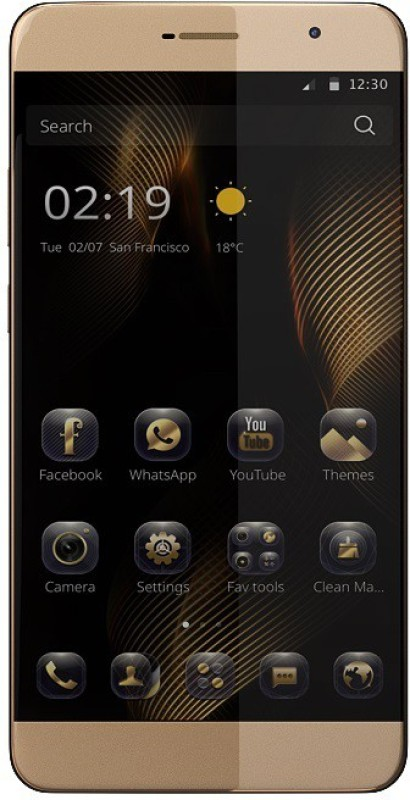 Comio P1 4G (Sunrise Gold, 32 GB)(3 GB RAM)