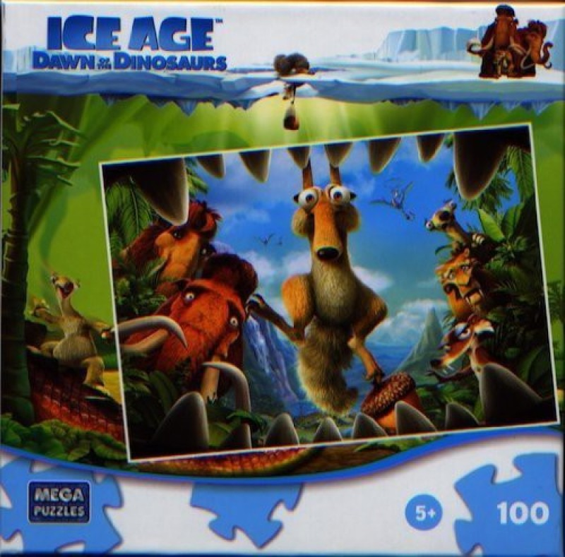 20th Century Fox Ice Age Dawn Of The Dinosaurs Jaws(100 Pieces)