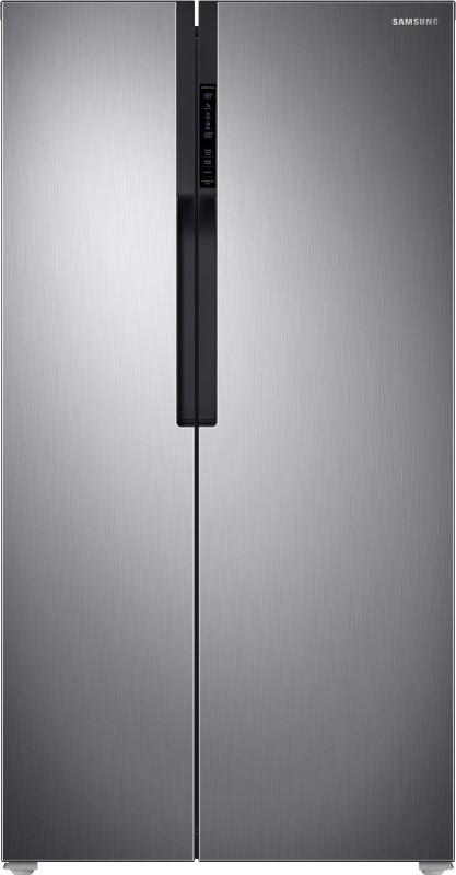 Samsung 604 L Frost Free Side by Side Refrigerator(Refined Inox(Matt...