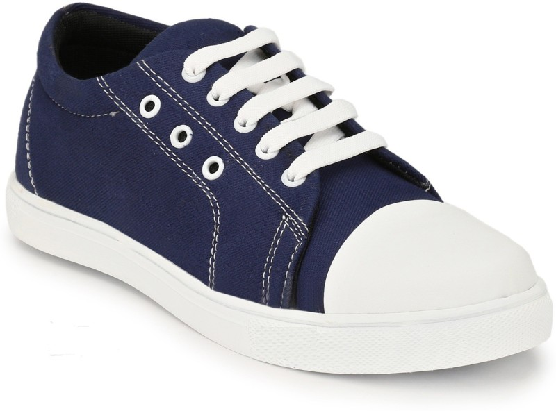 bootclub Trendy Canvas Running Shoes (Style No. :AT-CA-201) Casuals For Men(Blue)
