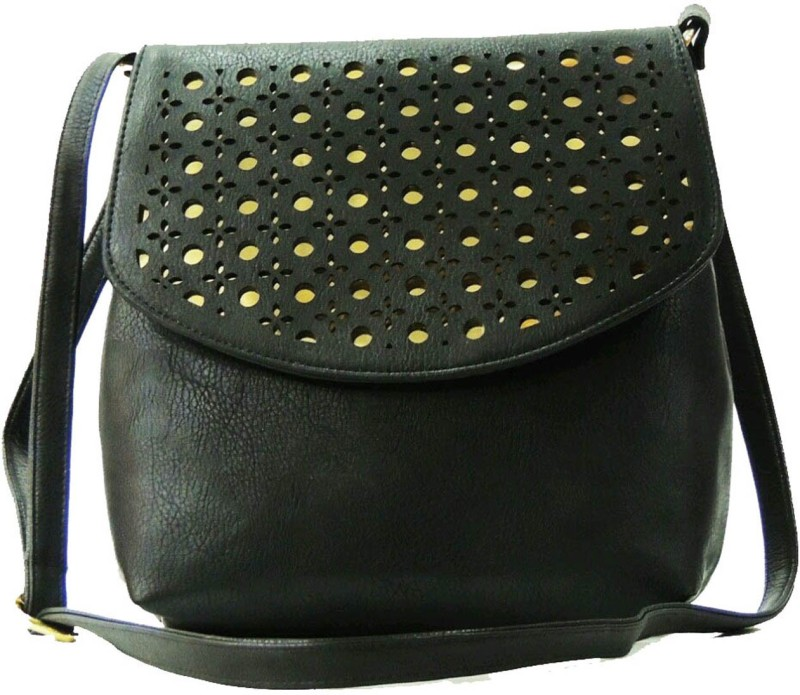 Faijan Fashions Black Sling Bag