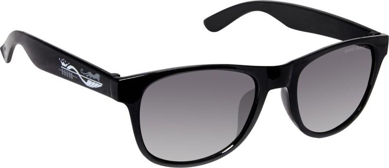 David Blake Wayfarer Sunglasses(Grey) image
