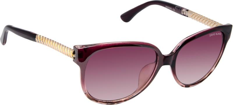 David Blake Oval Sunglasses(Violet) image