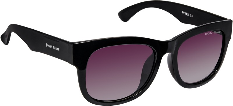 David Blake Wayfarer Sunglasses(Violet)