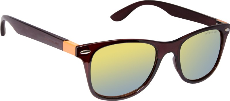 David Blake Wayfarer Sunglasses(Yellow)