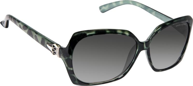David Blake Over-sized Sunglasses(Grey) image